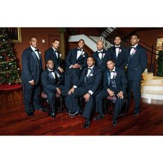 Your groomsmen should compliment the bridesmaids fashion by being classic and timeless. Well groomed men. Wedding fashion. African American groomsmen. Www.kdkulture.com