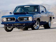 Plymouth Barracuda 1967 Blue