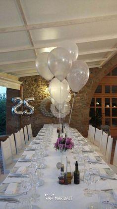 Ideas para decorar y organizar bodas de plata
