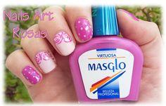 Las uñas de Julia: Nails Art Rosas / Virtuosa de Masglo