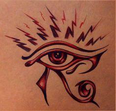 Eye Of Horus Tattoo Design
