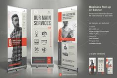 Business Roll-Up Banner 4 by TypoEdition on @creativemarket