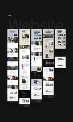 Bornfight — Digital Innovation Company on Behance Website Layout Examples, About Us Page Design, Innovation, Modern Website, Website Design Inspiration, Layout Inspiration, Ui Web, Web Layout, Graphic Design Branding