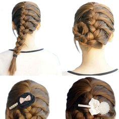 2016 Unique Design Convenient Hair Braiding Braider Tool Roller With Magic hair Twist Styling Bun Maker 5BQA 7H38
