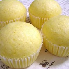 These steamed cheese cakes are cute. Serve as a snack or for breakfast!