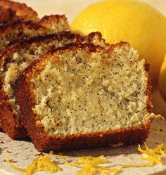 Cake au citron et aux graines de pavot - Recettes de cuisine Ôdélices