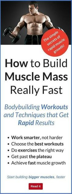 You go to grow muscle and build a body you can be proud of. But when you look around you at the gym, you may see people who have been turning up for months, huffing and puffing through exhausting workouts…yet gettin Fast Muscle Growth, Build Muscle Fast, How To Grow Muscle, Muscles In Your Body, Big Muscles, Muscle Mass, Gain Muscle, Muscle Diet, Muscle Protein