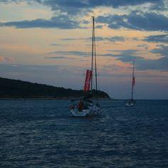 Night sailing wonderful magic.  #sailing #sailinglife #sail #sailor #sailingtrip #sailingyacht #sailboat #sailyacht #opensea #night #croatia #nightsailing #sea #sailboat #tenger #nightsailing #summer #memories #sundown #vitorlázás #mik #ikozosseg #ihun #ihungary #instakozosseg #instahun by radoczgabor