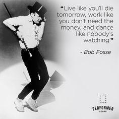 🤗 Bob Fosse, Theatre Quotes, Monologues, Sheet Music, Dance, Tips, Dancing, Theater Quotes, Music Sheets