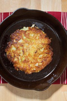 NYT Cooking: This hybrid of the Japanese okonomiyaki pancake and the traditional Jewish latke is from Sawako Okochi and Aaron Israel, the chefs and owners of Shalom Japan in Williamsburg, Brooklyn. It works beautifully in any setting where you might ordinarily serve latkes and is a fine base for caviars of any hue.