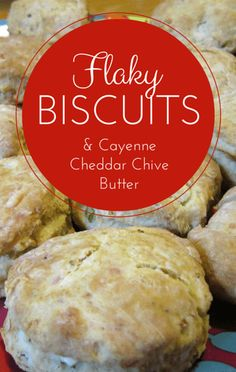 After one woman tried and failed to make biscuits like her grandmother used to, Carla Hall stepped in to help her! Together they made Flaky Biscuits with Cayenne and Cheddar Chive Butter!