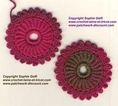 Sophie Gelfi - Créations textiles Crochet Laine et tricot - Vous trouverez sur ce blog les photos de mes créations textiles, des tutos crochet gratuits, les actualités de ma boutique www.crochet-laine-et-tricot.com et celles de mon blog participatif Easycrochet.