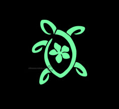 This decal was created as a sleek modern turtle and the color turqouise is very popular.