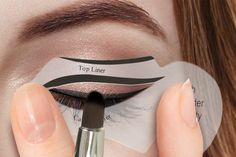 instead of for a two pack of eyeliner stencils including a cat eye and smokey eye stencil from Ckent Ltd - save 7