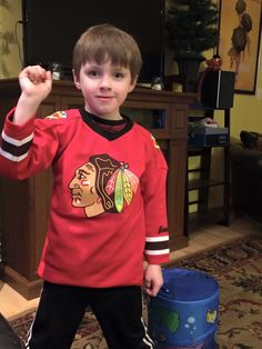 This is a new #Blackhawks fan all the way from Minnesota!