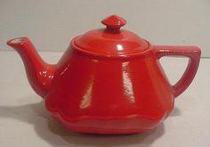 RARE Hall Chinese Red Baltimore Teapot | eBay
