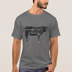 #chef - #Beef Meat Cuts Guide Chart T-Shirt