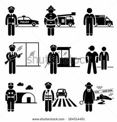 Pictograms Representing People Taking Care Of Fruit Tree Ilustraciones vectoriales en stock: 109288886 : Shutterstock