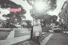 ©Rachel Lambert Photography  Italy Work Shop #secretretreat  Destination Wedding  SANTA MARIA CASTELLABATE ITALY bride and groom portrait vespa