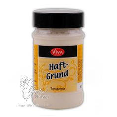"""Use Viva Decor Haft-Grund (Primer) before applying Croco Crackling to absorbent surfaces. Apply evenly on a dust and grease free surface. Let dry for two hours before applying Croco Crackling.<br><br>90 ml<P> <SPAN style=""""COLOR: """" #ff0000;>   PLEASE BE A"""
