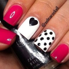 Best Valentine's Day Nail Art Designs - 34 Mind-Blowing Designs! - Hashtag Nail Art #HolidayNails