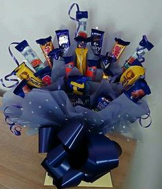 Mixed cadbury chocolate bouquet
