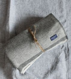 Image of Herringbone Wool Throw