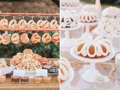 Creative wedding food bar ideas
