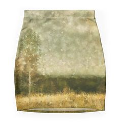 """Breath of autumn"" Pencil Skirts by floraaplus 