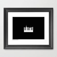 New York, New York Framed Art Print by Simon C Page - $42.00