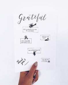 Grattitude page for my manager's farewell memorybook