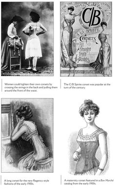 From: Bound & Determined: A Visual History of Corsets, 1850--1960