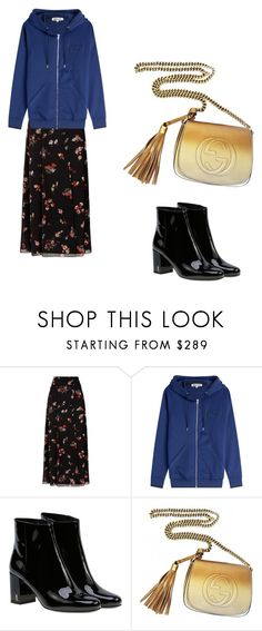 """""""NYFW"""" by phamthuquynh on Polyvore featuring RED Valentino, McQ by Alexander McQueen, Yves Saint Laurent and Gucci"""