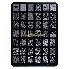 Woman Girl Salon Beauty Fashion Styles DIY Nail Art Image Stamp Stamping Plates Polish Manicure Template xy11 -- BuyinCoins.com