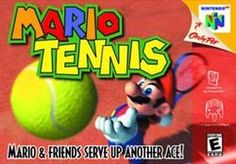 Mario Tennis (Nintendo), N64 | This was always played when my cousins came over!