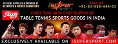 First Time Non Stop Supply of #DHS Table Tennis #Sports Goods in #India For more detail:- http://isupersport.com/brands/dhs.html