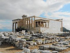 The Erechtheum Athens, Greece August 2015