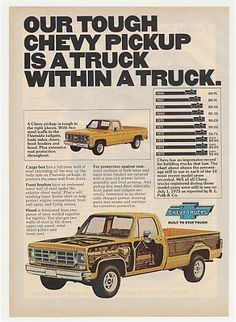 Chevy Truck within a truck