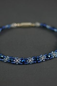 Original bead-woven jewelry that ranges from fun to formal. Beaded Jewelry, Beaded Bracelets, Ranges, Hand Weaving, Beads, Diamond, Formal, Pretty, Fun