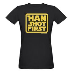 Because every geek knows that Greedo never fired a shot, despite what George Lucas says.