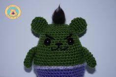 Hulk Mimiu por CrochetinYou en Etsy