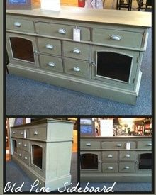 Coast to Cottage - Painted Furniture Annie Sloan Chateau Gray and Louis Blue