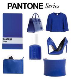 """Pantone 286"" by purelypriscilla on Polyvore"