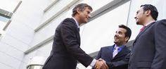 Hacer negocios con diferentes personas del mundo