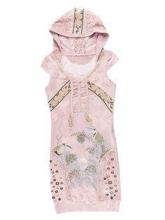 Rose color dress with a hood. Rose Colored Dress, Peplum, Tops, Dresses, Women, Fashion, Vestidos, Moda, Fashion Styles