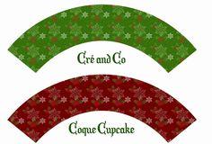 Gift 19 : Coque Cupcake Noel classique