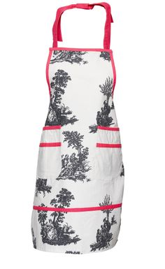 Floral apron by Lisbeth Dahl Copenhagen Spring/Summer 13. #LisbethDahlCph #Apron #Floral #Pink #Kitchen