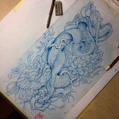 Japanese dragon and chrysanthemum will make my day! Sleeve design #japanesetattoo @crazyytattoos @inkedmag #tattoo #tatuaz #tattoosnob #inked_fx #superb_tattoos #superbtattoos #instagood #tattooistartmag #pictureoftheday #artist #art #ink #tattoos #inkedmag #custom #crazyytattoos #customtattoo #customdesign #inkfreakz #the_inkmasters #japanese #japanesetattoosub #japanesecollective #supportgoodtattooers #irezumicollective #polishboy