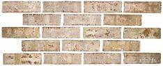 WHITESTONE by Brick it.com Available in Full Brick Size as well as think brick wall application. Might have to paint to achieve color we want.