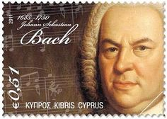 Grandes compositores del siglo XVIII (Great Composers of the 18th Century) - Cyprus series of stamps. If Cyprus gave him their stamp of approval, perhaps you should too!